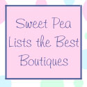 Sweet Pea Lists The Best Boutiques